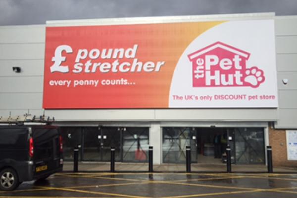 Pound Stretcher Front